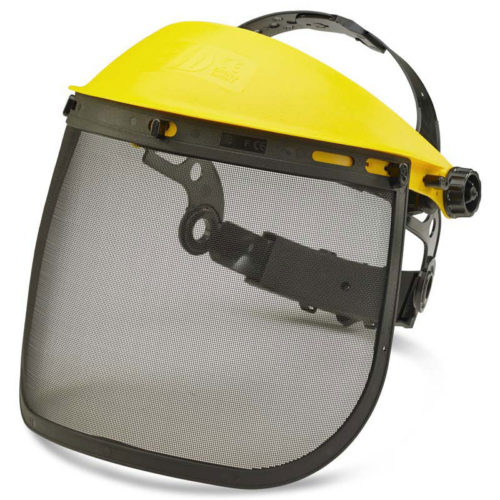 personal protective equipment mesh face protection