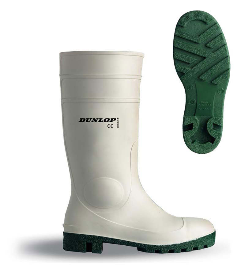 White Safety Wellington Boots S4 for
